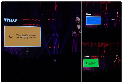 Julie Zhuo - 3 Questions TNW Conference