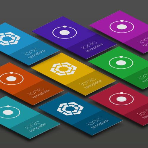 Templatizing Ionic Apps