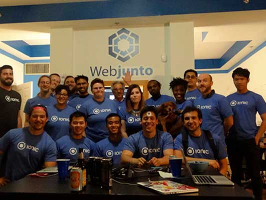 Ionic Framework Philadelphia Meetup at Webjunto
