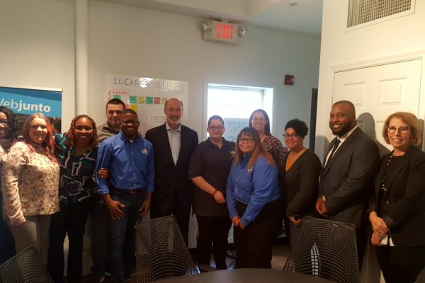 Governor Wolf Visits Webjunto to highlight apprenticeships